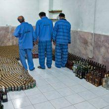 کشف محموله بزرگ مشروبات الکلی در مشهد