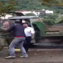 توضیحات پلیس گیلان در مورد انتشار فیلم ضرب و شتم راننده خاور/ برخورد قاطع با پلیس های متخلف