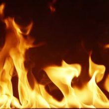 پیرمردی ۸۰ ساله براثر آتش سوزی یک منزل مسکونی در بندرانزلی جان باخت