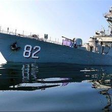 ناوگروه اعزامی نیروی دریایی ارتش به قزاقستان در بندر انزلی پهلو گرفت
