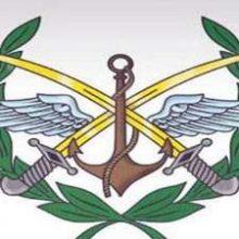 فرماندهی کل ارتش و نیروهای مسلح سوریه روز جمعه در بیانیه ای حمله موشکی آمریکا به یکی از پایگاه های هوایی این کشور در استان حمص را محکوم کرد و گفت: این تجاوزخلاف قوانین بین المللی و با هدف تاثیرگذاری بر توان ارتش سوریه در مبارزه با تروریسم است.
