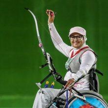 ممنوعالخروجی زهرا نعمتی :زهرا نعمتی پرچمدار بازیهای المپیک ۲۰۱۶ ریو و قهرمان پارالمپیک ۲۰۱۶ ریو در رشته تیر و کمان از سوی همسرش ممنوعالخروج شد.