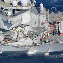 برخورد ناو آمریکایی با کشتی تجاری ژاپنی :ناوگان اقیانوس آرام آمریکا در هاوایی در بیانیه ای اعلام کرد:این ناوگان دریایی از گارد ساحلی ژاپن درخواست کمک کرد.