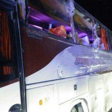 جزئیات این حادثه : ساعت ۶:۴۷ امروز (یکشنبه) واژگونی اتوبوس در کیلومتر ۵۰ جاده دندی به زنجان اعلام شد و سپس پنج دستگاه آمبولانس به محل حادثه اعزام شد