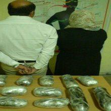 13 کیلو تریاک در رودبار :سرهنگ بابک علیزاده:ماموران انتظامی ایستگاه بازرسی ورودی رودبار حین کنترل خودرو عبوری به یک پراید مشکوک شده و دستور توقف دادند