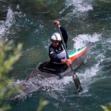 مسابقات قایقرانی قهرمانی اسلالوم مردان کشور با حضور 13 استان، به مدت 2 روز در رودخانه کرج برگزار شد.نفرات برتر به اردوی تیم ملی اسلالوم مردان راه یافتند.