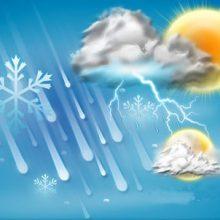 فعالیت جو کم و بیش ناپایدار طی 18 ساعت آینده در منطقه است بنا براین طی این مدت شرایط برای ابرناکی، بارش پراکنده در گیلان و احتمال رعد و برق فراهم می شود