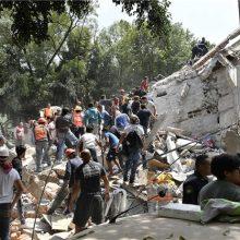 زلزله ۷.۱ ریشتری در مکزیکو سیتی باعث فرو ریختن ساختمانهای بسیاری در این شهر شده است.مرکز این زمین لرزه در 120 کیلومتری پایتخت مکزیک بوده است.