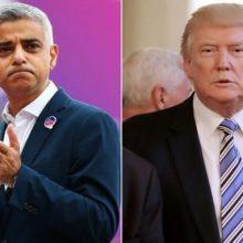 """صادق خان، شهردار لندن در کنفرانس حزب کارگر گفت او یک """"شرکتکننده بیتمایل"""" در ادامه خصومت میان خودش و دونالد ترامپ، رئیسجمهوری آمریکاست"""