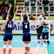 تیم ملی ایتالیا در آخرین دیدارش موفق شد با نتیجه سه بر یک آمریکا را از پیش رو بردارد و تیم ملی والیبال ایران را به نخستین مدال جهانی تاریخ خود رساند