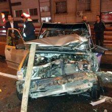 حادثه ساعت ۲۳:۱۰ شب گذشته ۲۸ مهر ۹۶ به مرکز ستاد فرماندهی125 آتش نشاني اطلاع داده شد كه سريعا يكدستگاه خودروي اطفايي و نجات بهمراه 4 آتش نشان پل روگذر گاز
