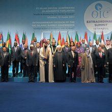 حسن روحانی روز چهارشنبه و طی سخنرانی در اجلاس فوق العاده سران کشورهای عضو سازمان همکاری اسلامی در استانبول، گفت: جمهوری اسلامی ایران آمادگی دارد