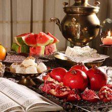 قدمت آیین شب چله در ایران به بیش از پنج هزار سال میرسد. طبق این آیین در آخرین روز پاییز که بلندترین شب سال است خورشید یا همان مهر متولدمی شود