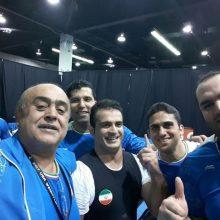 سهراب مرادی عنوان قهرمانی دسته ۹۴ کیلوگرم وزنه برداری جهان را به دست آورد و ایوب موسوی سوم شد.رقابتهای دسته ۹۴ کیلوگرم مسابقات وزنه برداری جهانی آمریکا