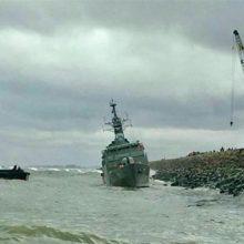 دو هفته پس از بروز حادثه برای ناوچه دماوند بزرگترین کشتی جنگی ایران در دریای خزر، رسانههای روسیه با تفسیر تصاویر منتشر شده اخیر از وضعیت این شناور مدعی شدهاند که بخشهای زیادی از دماوند که سه سال پیش