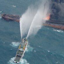 مقامات چینی اظهار کردهاند نفتکش غرق شده سانچی ممکن است در حال انتشار سوخت بانکر سنگین و همچنین نفت سبک در شرق سواحل چین باشد و بهترین راه چاره بیرون کشیدن نفتکش سانچی است.