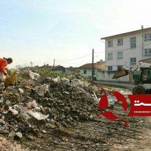 پنجمین مرحله پاکسازی محلات منطقه یک شهرداری رشت در کوی امام رضا (ع) به روایت تصویر