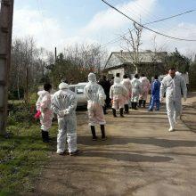 براساس بررسی های بعمل آمده و نمونه برداری از مرغان خانگی روستای مرزدشت خمام و تائید ویروس N6H5 عامل بیماری آنفلوآنزای فوق حاد پرندگان و پیشگیری و جلوگیری؛ آنفلوآنزای مرغی در خمام