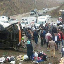 مدیر مرکز مدیریت حوادث و فوریتهای پزشکی دانشگاه علوم پزشکی بیرجند گفت: حادثه واژگونی اتوبوس در محور «طبس - فردوس» 9 کشته و 36 مصدوم برجا گذاشت.