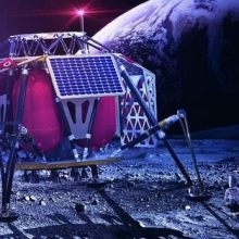 """شرکت مخابراتی """"ودافون"""" با همکاری شرکت نوکیا در پی راهاندازی یک شبکه اینترنت 4G در کره ماه و پخش زنده تصاویر ماه با کیفیت اچ.دی هستند."""