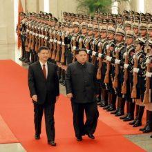 رهبر کره شمالی از روز یکشنبه تا روز چهارشنبه از چین دیدار و با «شی جین پینگ» رییس جمهوری خلق چین گفتوگو کرده است. سفر «اون» به چین