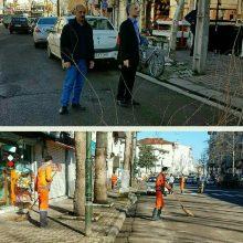 هشتمین مرحله پاکسازی محلات منطقه یک شهرداری رشت به روایت تصویر