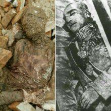 شباهت جسد مومیایی پیدا شده با آخرین عکس رضا شاه