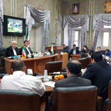 بیست و هفتمین جلسه کمیسیون فرهنگی ، اجتماعی شورای اسلامی شهر رشت به صورت مشترک با کمیسیون برنامه ، بودجه و حقوقی شورای اسلامی شهر رشت عصر سه شنبه در سالن جلسات عمارت تاریخی