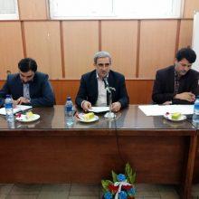 فرهاد دلق پوش در کمیته ساماندهی شن و ماسه رودخانه ای استان گیلان که با هدف بررسی محدودیت ها، توان سنجی ظرفیت ها و تدوین راهکارهای جدید انجام شد