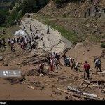 سه نفر بر اثر جاری شدن سیل در منطقه کوهستانی اشکورات رودسر در استان گیلان مفقود شدند.