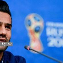 مسعود شجاعی همراه با کارلوس کیروش در نشست خبری پیش از بازی با اسپانیا شرکت کرد. مشکل حضور بانوان در ورزشگاهها