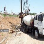 پروژه احداث دیواره حفاظتی در نقاط بحرانی و حادثه خیز حد فاصل میدان نبوت تا تخته پل