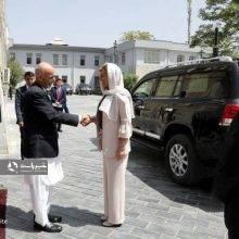پوشش رئیس جمهور کرواسی در سفر به افغانستان + تصاویر