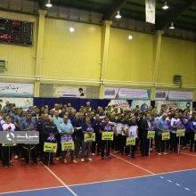 جشنواره فرهنگی ورزشی ایثارگران شرکت ملی گاز در چابکسر آغاز شد