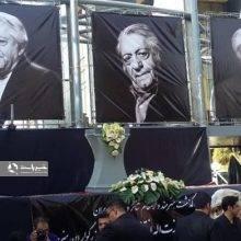 عزت الله انتظامی در کنار خسرو شکیبایی آرام گرفت+تصاویر