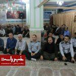 گزارش تصویری مراسم تجلیل از ایثارگران کارمند شهرداری رشت