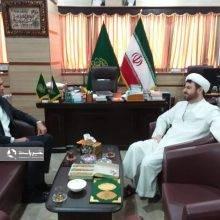 دیدار آقای مهندس امیرلو با ریاست محترم سازمان تبلیغات اسلامی استان گیلان