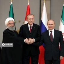 بیانیه مشترک روسای جمهورایران، روسیه و ترکیه