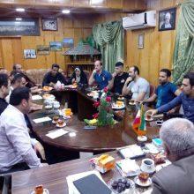 جلسه هماهنگی لیدرهای دو تیم داماش و چوکا عصر پنجشنبه در فرمانداری تالش برگزار شد.