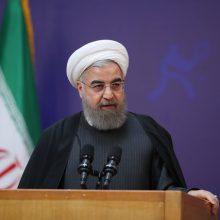 حسن روحانی رئیسجمهور به مناسبت مراسم آغاز سال تحصیلی جدید دانشگاهها و مراکز آموزش عالی با حضور در دانشگاه تهران ضمن تبریک به مناسبت آغاز سال تحصیلی ۹۷ گفت