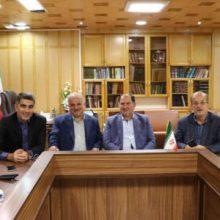 دیدار جمعی از اعضای شورای شهر رشت با فرماندار شهرستان