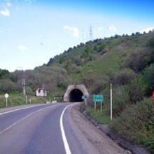 مسدود بودن تونل حیران در استان گيلان
