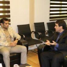 حضور مهندس علی بهارمست سرپرست شهرداری کلانشهر رشت در شهرداری منطقه ۱