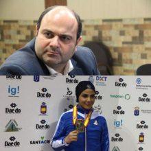 پیام تبریک رضا رسولی به مناسبت کسب مدال برنز توسط بانوی قهرمان گیلانی در مسابقات جهانی اسپانیا