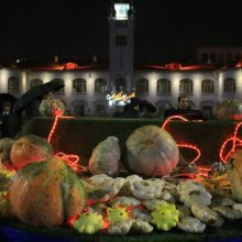 افتتاح سومین جشنواره کدو در پیاده راه فرهنگی شهرداری رشت