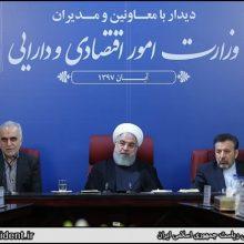 روحانی روز دوشنبه در جلسه معاونین و مدیران
