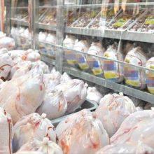 50تن مرغ منجمد در شبکه بازار گیلان توزیع می شود