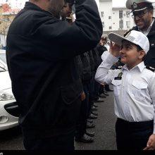 «پلیس کوچک» آسمانی شد+تصاویر