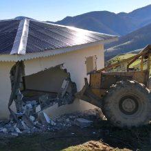 تخریب 4 خانه غیر مجاز در اسالم تالش