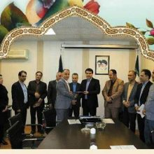 مراسم تودیع و معارفه مدیرناحیه دو شهرداری منطقه یک برگزار شد